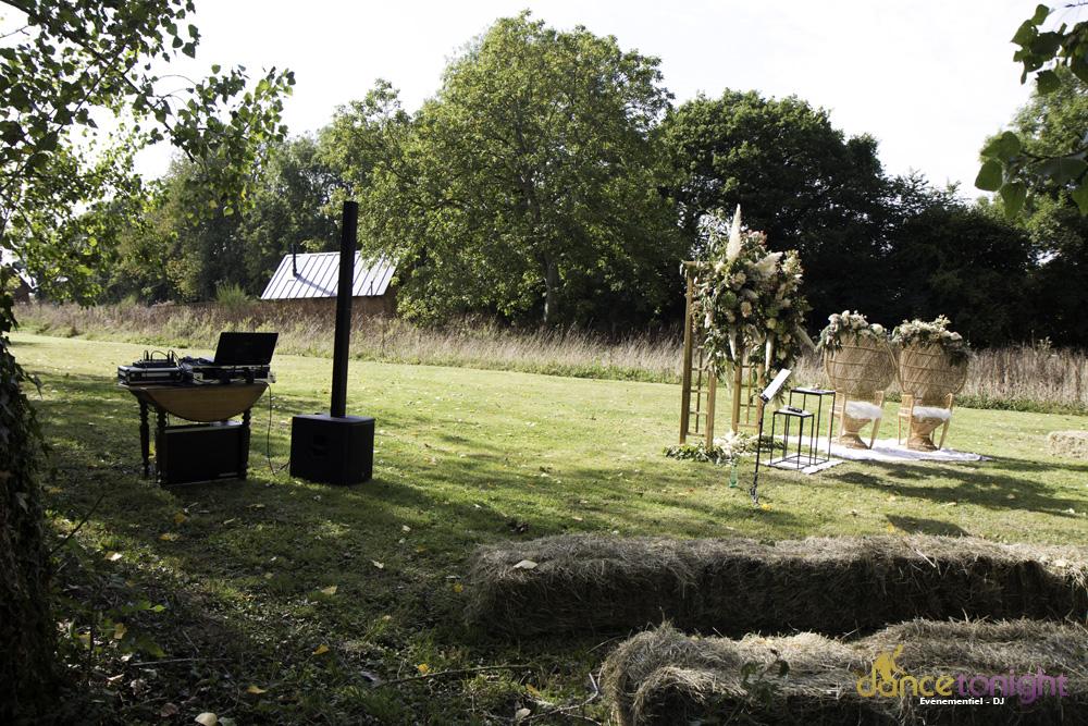 Sonorisation cérémonie laïque Normandie