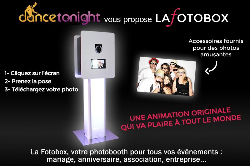 Le photobooth par Dance Tonight