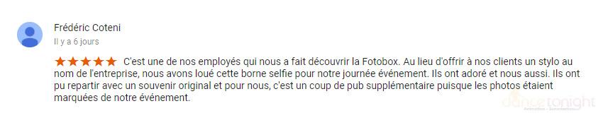 avis borne selfie cherbourg