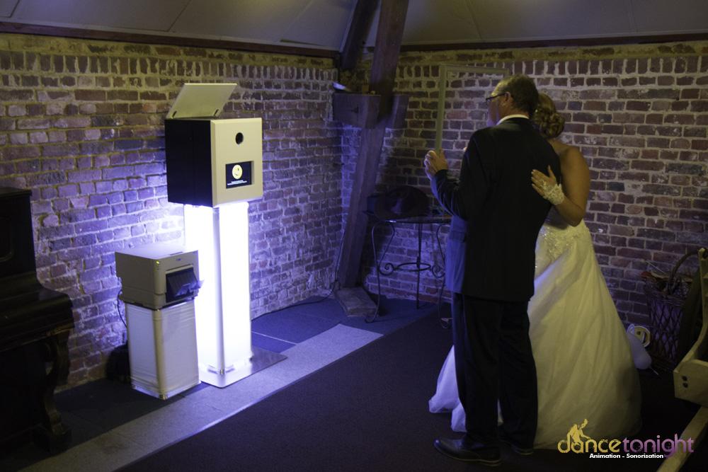 borne selfie mariage manche