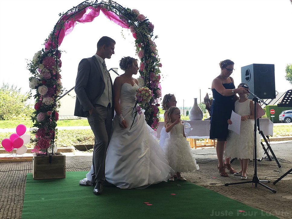 organisateur mariage manche
