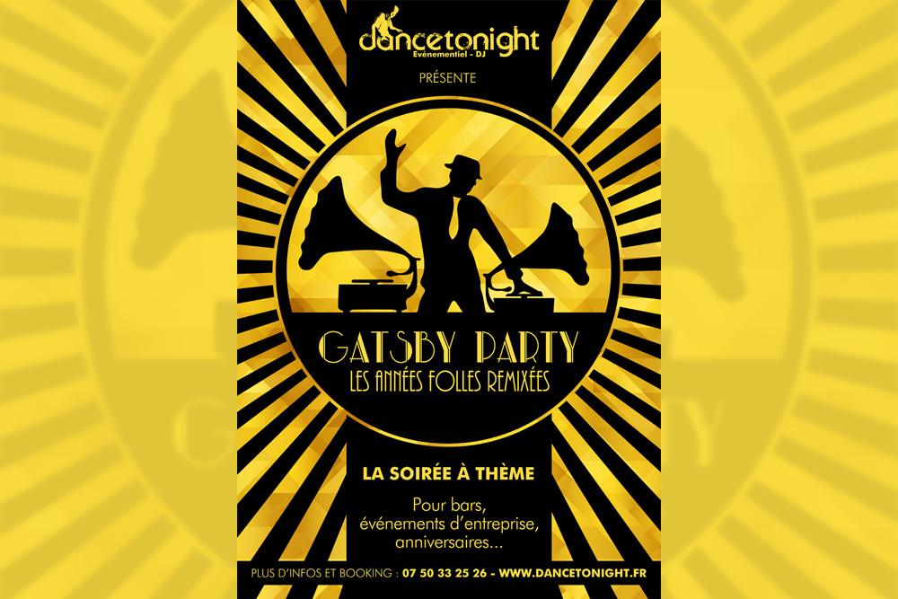 Soirée à thème Gatsby Party - Années Folles